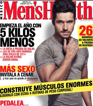 Eleazar Gómez en Men´s Health
