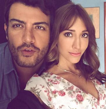 Fernanda Romero y Andrés Palacios