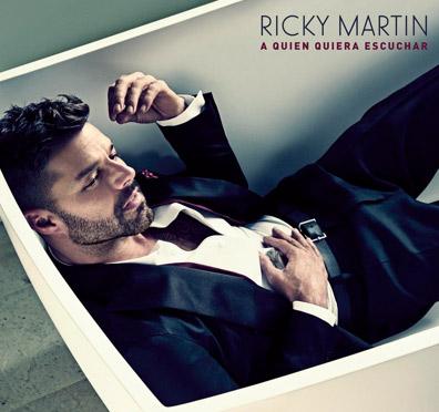 Portada de A quien quiera escuchar de Ricky Martin