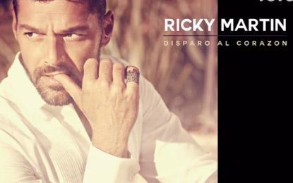 Ricky Martin portada de Disparo al corazón