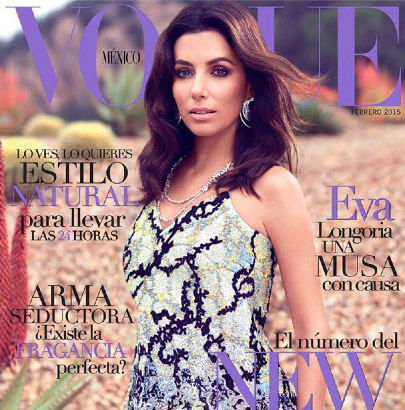 Eva Longoria en Revista Vogue