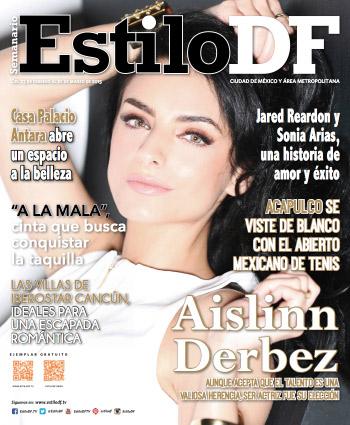 Aislinn Derbez en revista Estilo DF