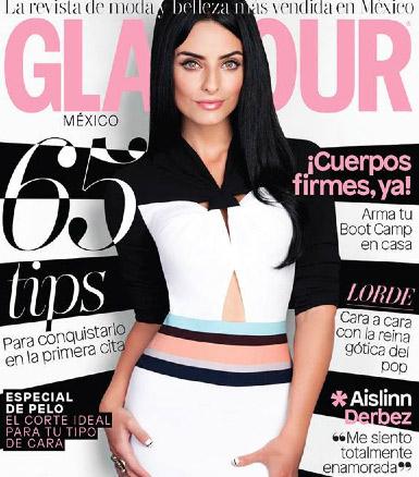 Aislinn Derbez en revista Glamour