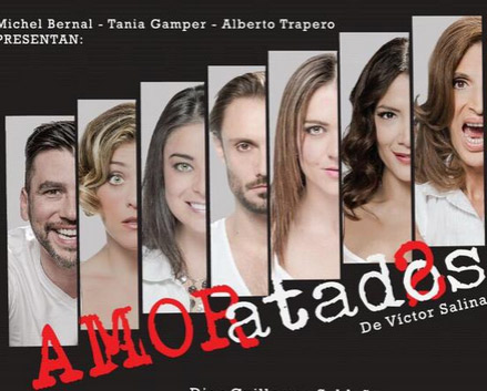 AMORatados regresa el 5 de marzo al Teatro Libanés