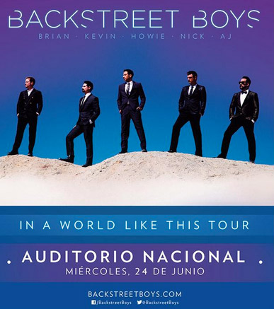 Backstreet Boys en Auditorio Nacional 24 de junio
