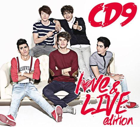 Portada CD9 Live & Love Edition