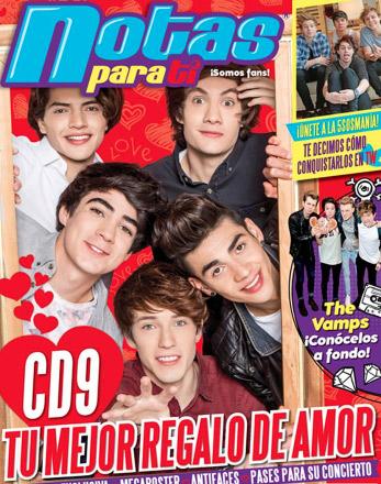 CD9 en revista Notas para ti
