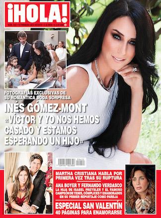 Inés Gómez Mont confirma boda y embarazo