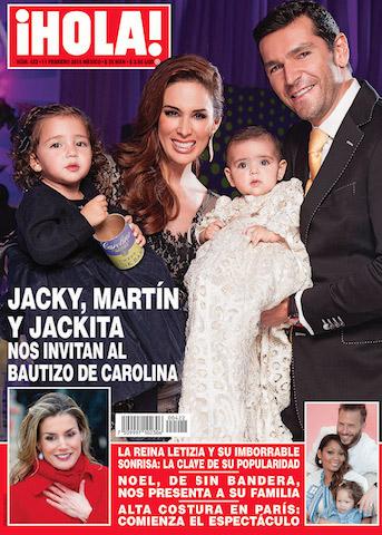 Jacky Bracamontes bautizó a su hija Carolina