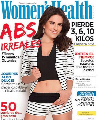 Karla Souza en Women´s Health