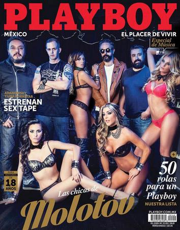 Molotov en Playboy