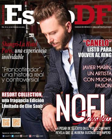 Noel Schajris en Revista Estilo DF
