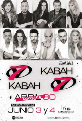 OV7 y Kabah 3 y 4 de junio en Auditorio Nacional