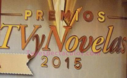 Nominados a Premios TvyNovelas 2015