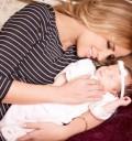 Raquel Bigorra y su bebé Rafaella