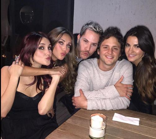 Se reúnen ex integrantes de RBD