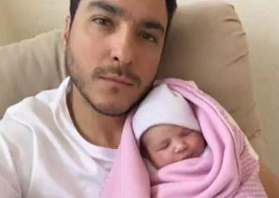 Rodrigo Dávila y su hija Martina