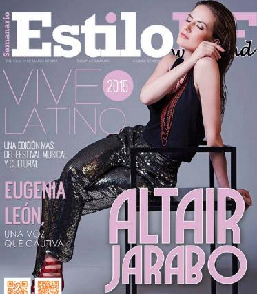 Altair Jarabo en revista Estilo DF