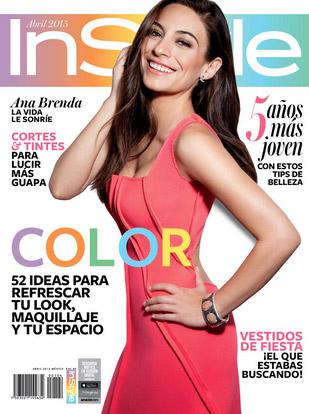 Ana Brenda Contreras en Instyle