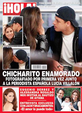 Bautizo de Aitana en Revista HOLA
