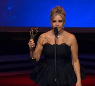 Daniela Castro en Premios Tvynovelas
