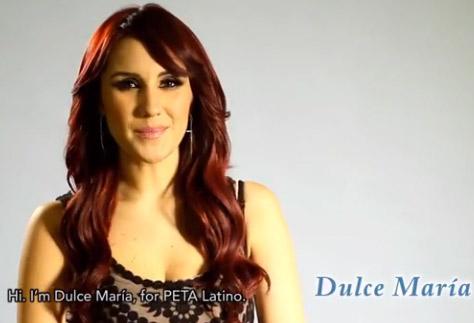 Dulce María para PETA Latino