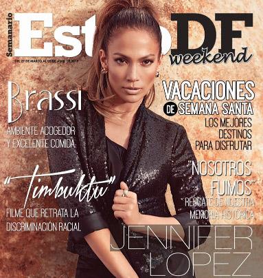 Jennifer Lopez en Revista Estilo DF