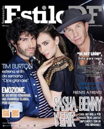 Estilo DF con Sasha Benny y Erik