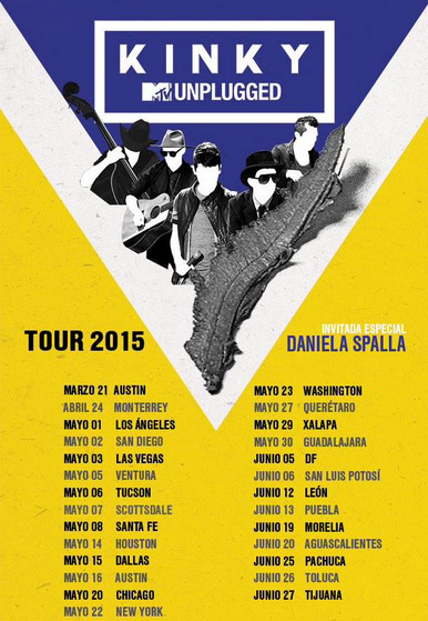 Fechas gira 2015 de Kinky