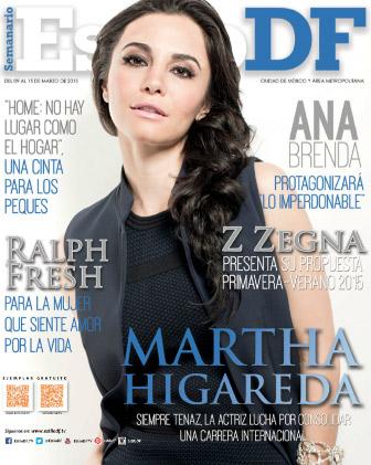 Martha Higareda en Estilo DF