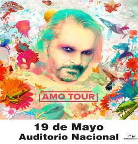 Miguel Bosé en Auditorio Nacional 19 de mayo