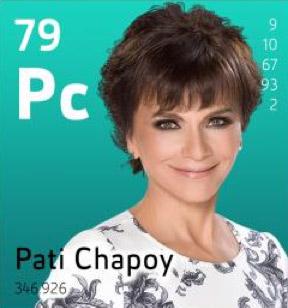 Paty Chapoy en El Hormiguero