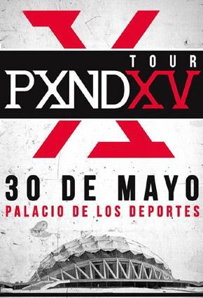 Pxndx en el Palacio de los Deportes