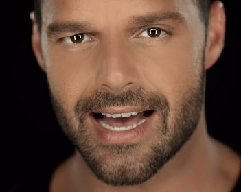 Video Disparo al corazón de Ricky Martin