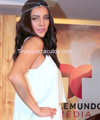 Actriz Sara Maldonado