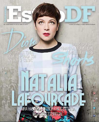 Natalia Lafourcade en Revista Estilo DF