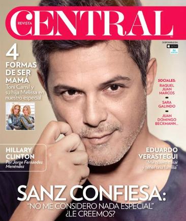 Alejandro Sanz en Central