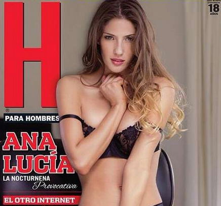 Ana Lucia en revista H de mayo