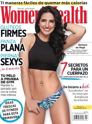 Bárbara de Regil en Revista Women´s Health