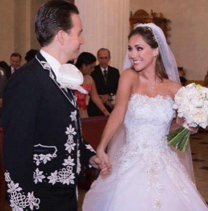 Se casó Anahí con Manuel Velasco