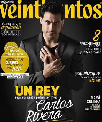 Carlos Rivera en Revista Veintitantos