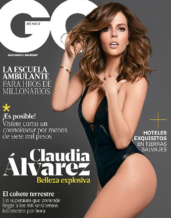 Claudia Alvarez  en GQ