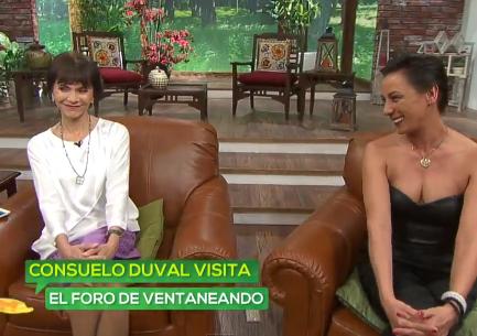 Consuelo Duval en Ventaneando