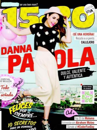 Danna Paola en revista 15 a 20