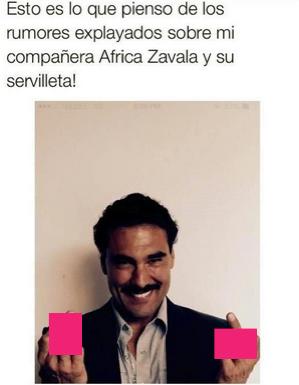 Mensaje de Eduardo Yañez en Twitter