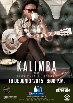 Kalimba en Pepsi Center 18 junio