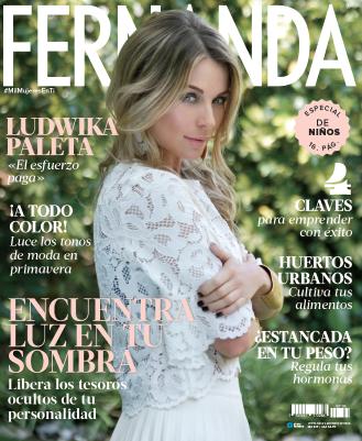 Ludwika Paleta en Revista Fernanda