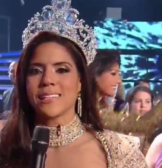 Francisca Lachapel Ganadora de Nuestra Belleza Latina 2015
