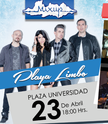 Playa Limbo Firma Autografos plaza Universidad