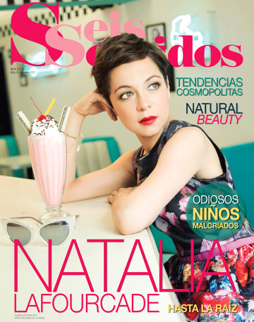 Natalia Lafourcade en Revista Seis Sentidos